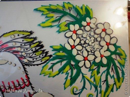 Картина панно рисунок Мастер-класс Аппликация из пластилина + обратная Пластилиновая рапсодия Пластилин фото 29