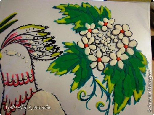 Картина панно рисунок Мастер-класс Аппликация из пластилина + обратная Пластилиновая рапсодия Пластилин фото 30