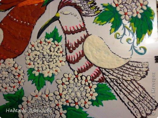 Картина панно рисунок Мастер-класс Аппликация из пластилина + обратная Пластилиновая рапсодия Пластилин фото 26