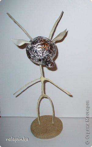 Игрушка Мастер-класс Новый год Папье-маше Тирольский козлик Бумага фото 4