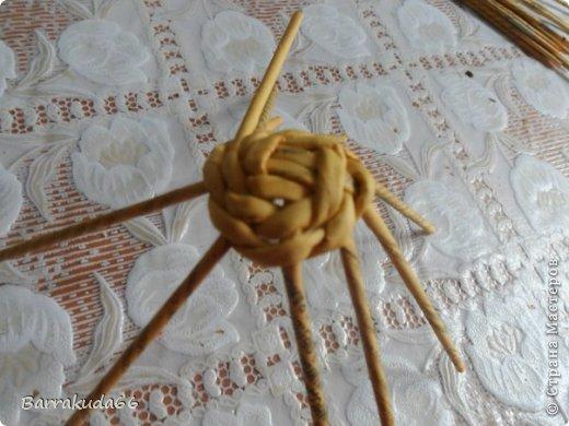 Мастер-класс Новый год Пасха Плетение Корзинка Овечка Бумага газетная Трубочки бумажные фото 7