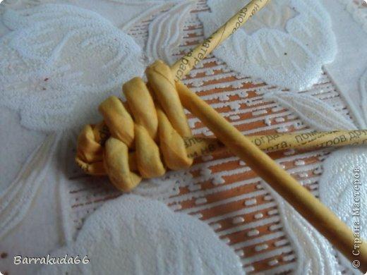 Мастер-класс Новый год Пасха Плетение Корзинка Овечка Бумага газетная Трубочки бумажные фото 10