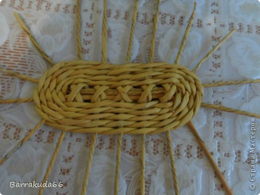 Мастер-класс Новый год Пасха Плетение Корзинка Овечка Бумага газетная Трубочки бумажные фото 3