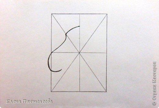 Мастер-класс Урок рисования Рисование и живопись Рисуем символ 2015 года МК Бумага фото 8