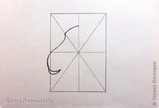 Мастер-класс Урок рисования Рисование и живопись Рисуем символ 2015 года МК Бумага фото 9