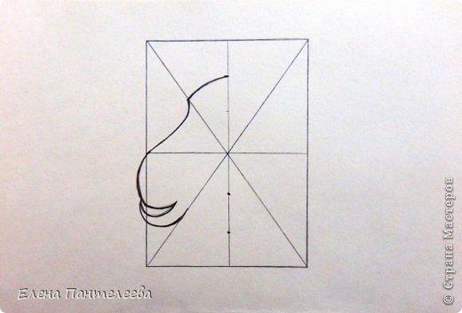 Мастер-класс Урок рисования Рисование и живопись Рисуем символ 2015 года МК Бумага фото 10