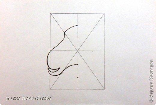 Мастер-класс Урок рисования Рисование и живопись Рисуем символ 2015 года МК Бумага фото 11