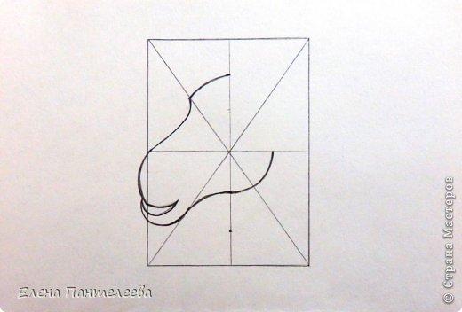 Мастер-класс Урок рисования Рисование и живопись Рисуем символ 2015 года МК Бумага фото 12