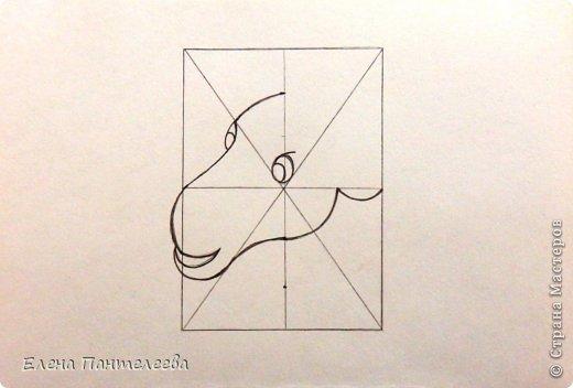 Мастер-класс Урок рисования Рисование и живопись Рисуем символ 2015 года МК Бумага фото 15