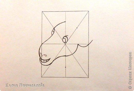 Мастер-класс Урок рисования Рисование и живопись Рисуем символ 2015 года МК Бумага фото 16