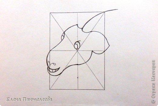 Мастер-класс Урок рисования Рисование и живопись Рисуем символ 2015 года МК Бумага фото 19