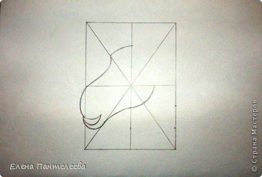 Мастер-класс Урок рисования Рисование и живопись Рисуем символ 2015 года МК Бумага фото 32