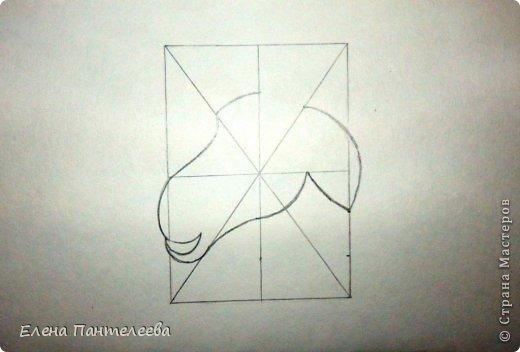 Мастер-класс Урок рисования Рисование и живопись Рисуем символ 2015 года МК Бумага фото 33