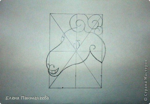 Мастер-класс Урок рисования Рисование и живопись Рисуем символ 2015 года МК Бумага фото 36