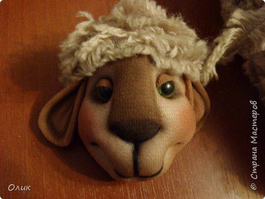 Куклы Новый год Шитьё Большой м к овечки символ 2015 г Капрон Нитки Пряжа Шерсть фото 19