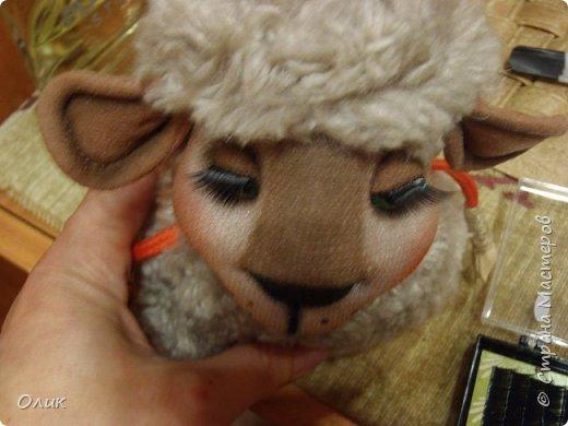 Куклы Новый год Шитьё Большой м к овечки символ 2015 г Капрон Нитки Пряжа Шерсть фото 44