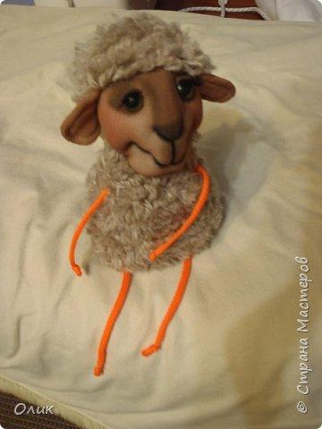 Куклы Новый год Шитьё Большой м к овечки символ 2015 г Капрон Нитки Пряжа Шерсть фото 52