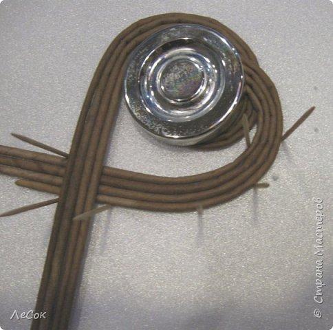 Мастер-класс Поделка изделие Плетение Мастер класс Ажурные крышки Трубочки бумажные фото 15