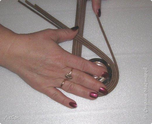 Мастер-класс Поделка изделие Плетение Мастер класс Ажурные крышки Трубочки бумажные фото 11