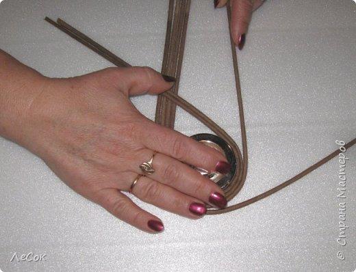 Мастер-класс Поделка изделие Плетение Мастер класс Ажурные крышки Трубочки бумажные фото 10