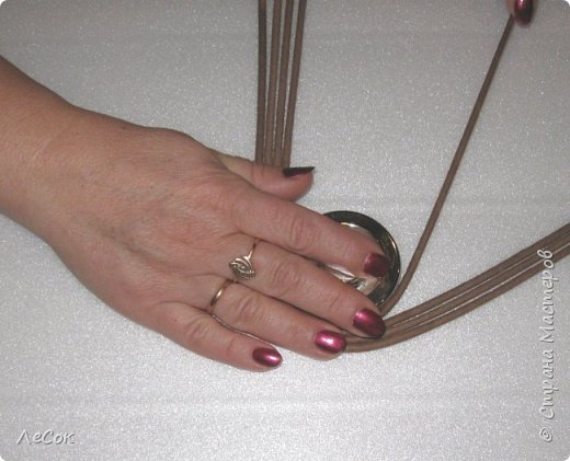Мастер-класс Поделка изделие Плетение Мастер класс Ажурные крышки Трубочки бумажные фото 9