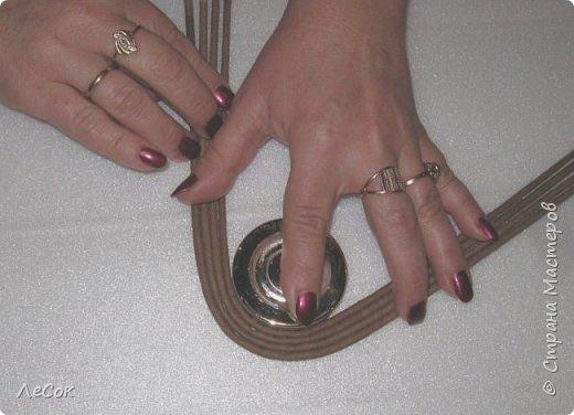 Мастер-класс Поделка изделие Плетение Мастер класс Ажурные крышки Трубочки бумажные фото 8