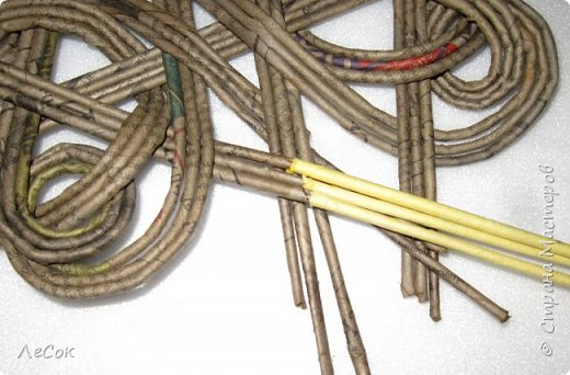 Мастер-класс Поделка изделие Плетение Мастер класс Ажурные крышки Трубочки бумажные фото 21