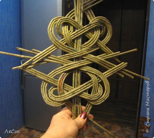 Мастер-класс Поделка изделие Плетение Мастер класс Ажурные крышки Трубочки бумажные фото 18