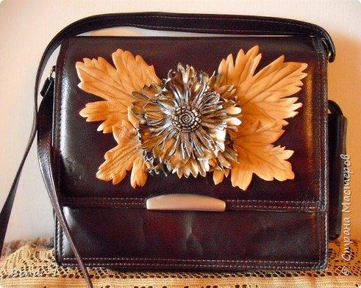Декор предметов Моделирование конструирование Парочка сумок  Кожа фото 2