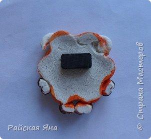 Мастер-класс Поделка изделие Новый год Лепка Барашек Гуашь Клей Магниты Тесто соленое фото 8