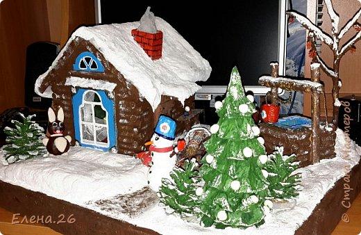 Поделка изделие Новый год Моделирование конструирование Зимняя сказка Материал природный фото 3
