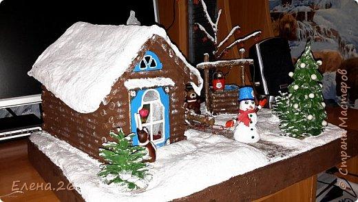 Поделка изделие Новый год Моделирование конструирование Зимняя сказка Материал природный фото 2