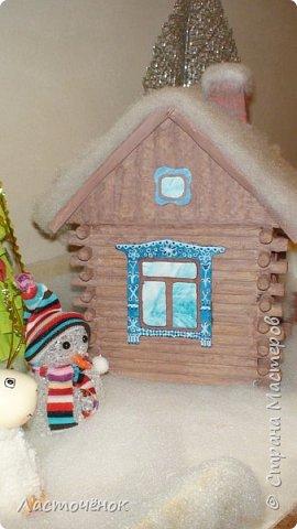Поделка изделие Новый год Папье-маше Поделка в садик Бумага фото 2