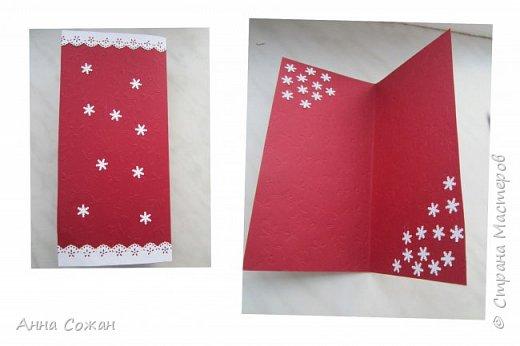 Открытка Новый год Квиллинг Новогоднее вдохновение Открытки Бумажные полосы Бусины фото 5