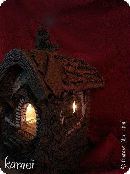 Мастер-класс Поделка изделие Лепка мой сказочный домик Гипс Краска Тесто соленое фото 7