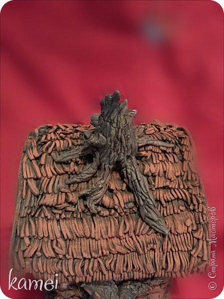 Мастер-класс Поделка изделие Лепка мой сказочный домик Гипс Краска Тесто соленое фото 5