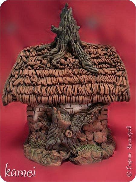 Мастер-класс Поделка изделие Лепка мой сказочный домик Гипс Краска Тесто соленое фото 4