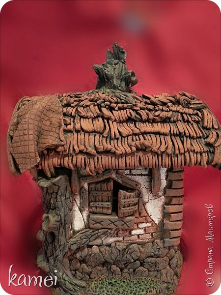 Мастер-класс Поделка изделие Лепка мой сказочный домик Гипс Краска Тесто соленое фото 3