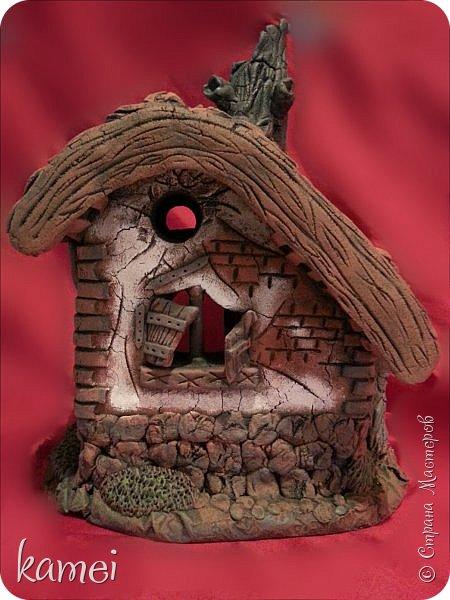 Мастер-класс Поделка изделие Лепка мой сказочный домик Гипс Краска Тесто соленое фото 2