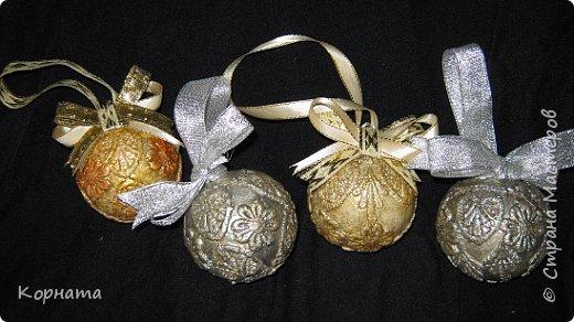 Декор предметов Новый год Аппликация Декупаж Роспись Новый год к нам идет -2  фото 1