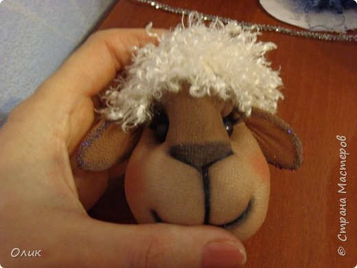 Куклы Новый год Шитьё Большой м к овечки символ 2015 г Капрон Нитки Пряжа Шерсть фото 71