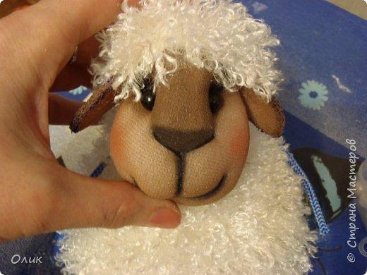 Куклы Новый год Шитьё Большой м к овечки символ 2015 г Капрон Нитки Пряжа Шерсть фото 73