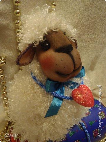 Куклы Новый год Шитьё Большой м к овечки символ 2015 г Капрон Нитки Пряжа Шерсть фото 76