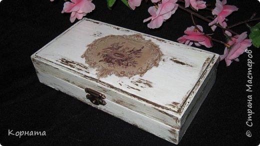 Декор предметов Декупаж Немного декупажа Дерево Краска фото 1