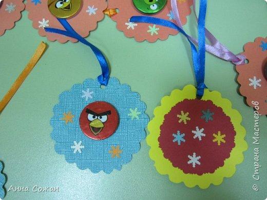 Открытка Новый год Квиллинг Мини-подрочки к Новому году и не только Бумажные полосы Бусины фото 20