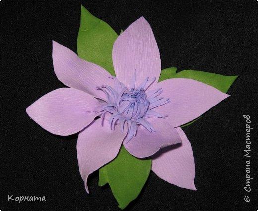 Украшение Цветочная феерия Фоамиран фом фото 1