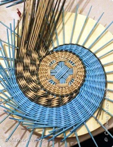 Мастер класс плетение панно 40 см