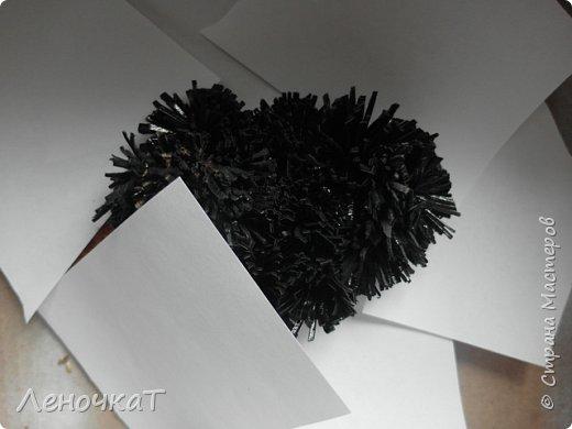 Картина панно рисунок Мастер-класс Новый год Ассамбляж Новогоднее панно Овечка Кожа фото 9