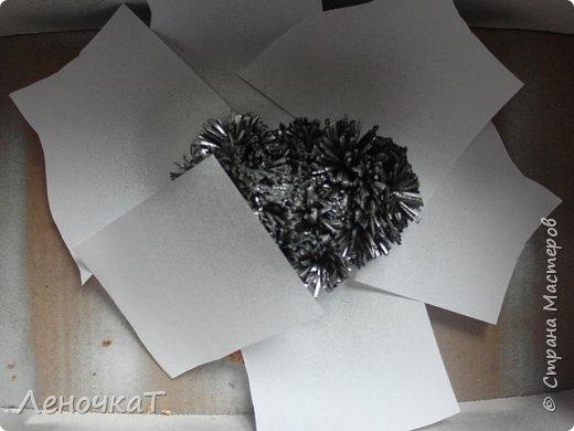 Картина панно рисунок Мастер-класс Новый год Ассамбляж Новогоднее панно Овечка Кожа фото 11