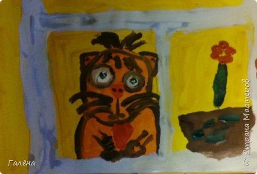 Картина панно рисунок Педагогический опыт Рисование и живопись Уроки ИЗО-6 Гуашь фото 10